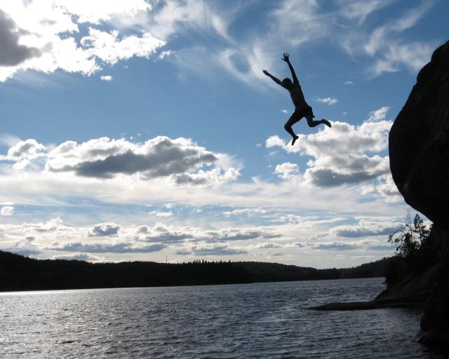 jumping-in-lake-1314572